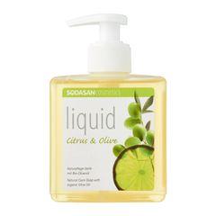 Sodasan Citrus And Olive Liquid Soap 300ml