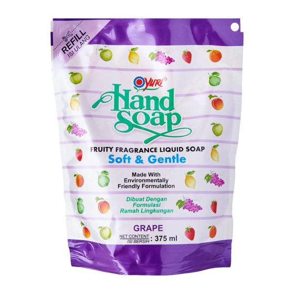 Yuri Handsoap Refill Grape 375 ml