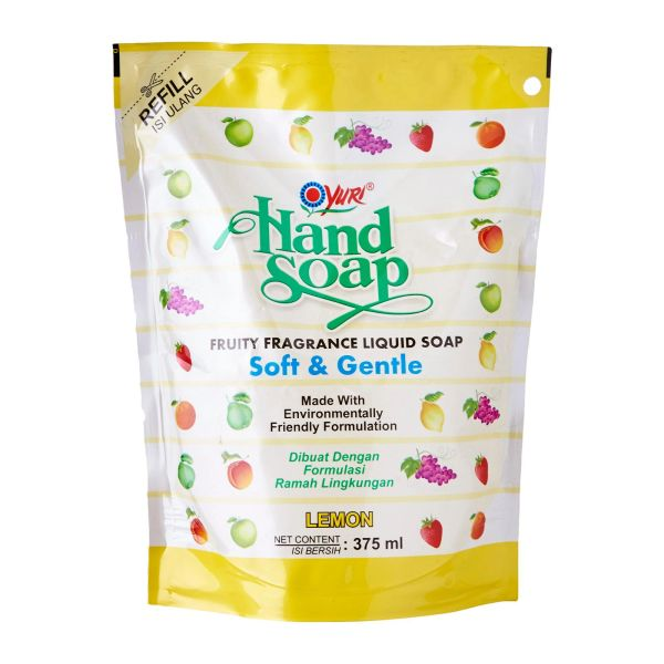 Yuri Handsoap Refill Lemon 375 ml