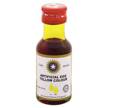 Star Colour Egg Yellow 25ml