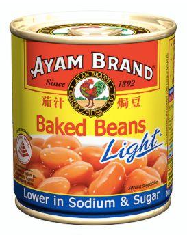 Ayam Baked Beans Light 230g