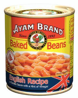 Ayam Baked Beans English Recipe 230g