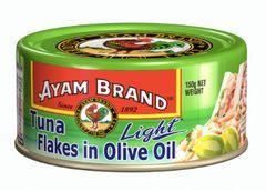 Ayam Tuna Light Flakes Olive Oil 150g