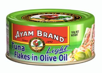 Ayam Tuna Light Flakes Olive Oil 150g