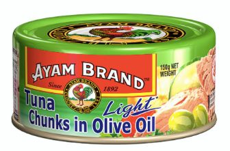 Ayam Tuna Light Chunks Olive Oil 150g