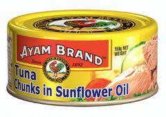 Ayam Tuna Chunks IN S/Flower Oil 150g