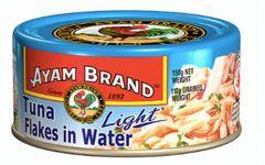 Ayam Tuna Light Flakes IN Water 150g