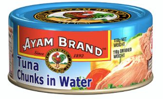 Ayam Tuna Chunks IN Water 150g
