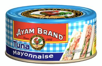 Ayam Mayonnaise Natural Tuna 160g