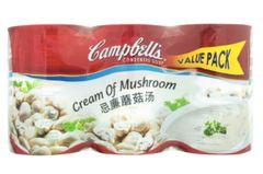Campbell's Cream Of Mushroom 3X290g