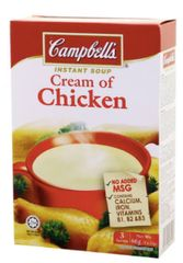 Campbell's Cream Of Chicken (M) 3X22g