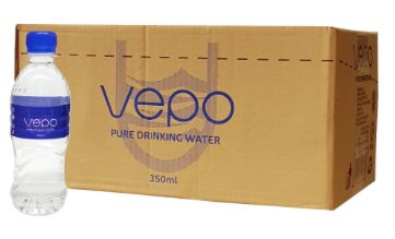Vepo Pure Drinking Water 24X350ML
