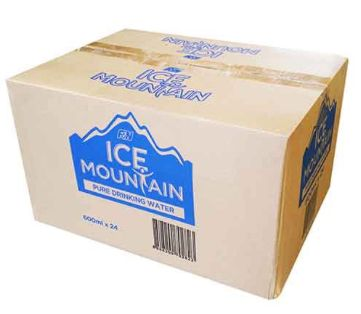 Ice Mountain P/Drinking Water 24X600ML