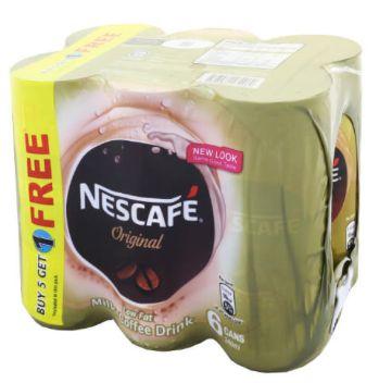 Nescafe RTD Original 5+1X240ml