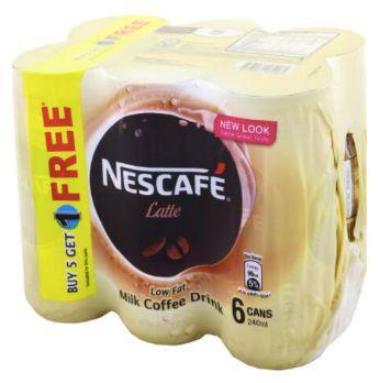 Nescafe RTD Latte 5+1X240ml