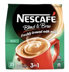 Nescafe 3IN1 Blend&Brew Rich 25X20g