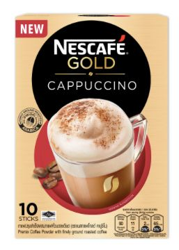Nescafe Gold Cappuccino 10X20.5g