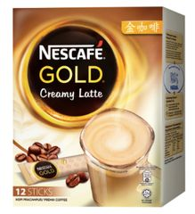 Nescafe Gold Creamy Latte 12X33g