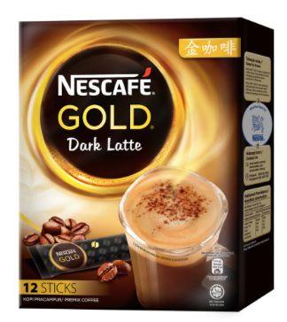 Nescafe Gold Dark Latte 12X34g