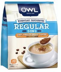 Owl 3IN1 Regular 100% Fd Coffee 30X20g