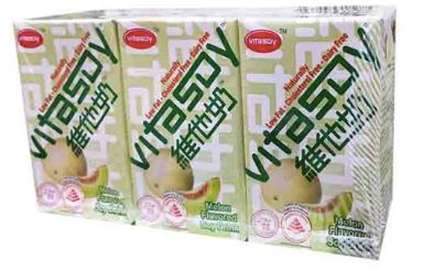 Vitasoy S/Bean Melon 6X250ml