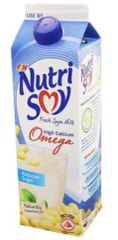 Nutrisoy Omega Reduced Sugar 1L
