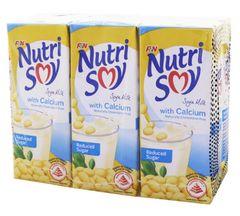 Nutrisoy Soya Milk W Cal R/S 6X250ml