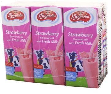 Magnolia S'berry Milk 6X250ml