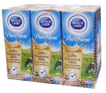 Dutch Lady COFFEE(PKT)6X200ml