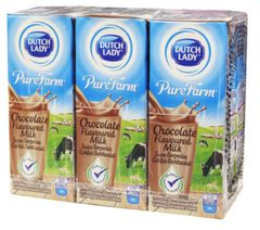 Dutch Lady Chocolate MILK(PKT)6X200ml