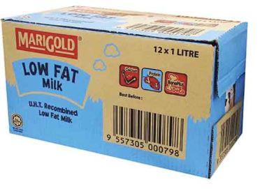 Marigold UHT Low Fat Milk 12X1L