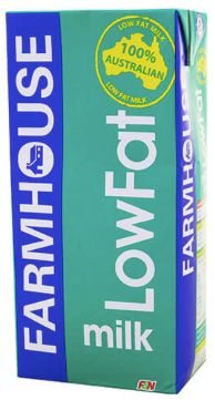 Farmhouse Low Fat UHT Milk 1L