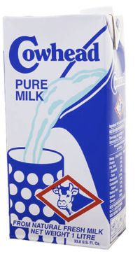Cowhead UHT Pure Milk 1L