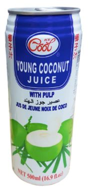 Ice Cool Young Coconut 500ml
