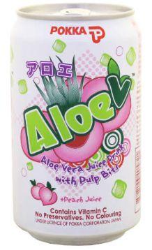 Pokka Aloe Vera+Peach 300ml
