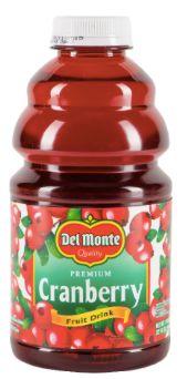 Delmonte Cranberry Juice 946ml