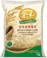 Royal G/Grain Premium Fragrant Rice 1KG