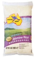 Kangaroo 100% Topaz Jasmine Rice 5KG