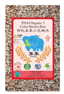 Chang Organic 3 Colour Rice 1KG