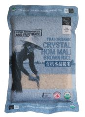 Chang Organic Crystal Brown Rice 2KG