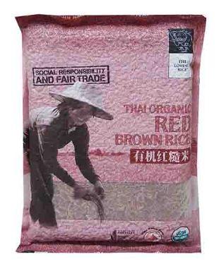 Chang Organic Red Brown Rice 1KG