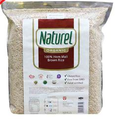 Naturel Organic Brown Rice 2KG