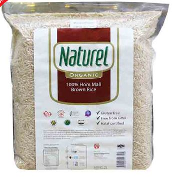 Naturel Organic Brown Rice 2KG