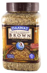 Daawat Quick Cook Brown Basmati Rice 1KG