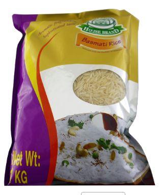 House Brand Basmati Rice 1KG
