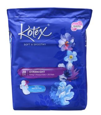 Kotex Kss Overnight Wing 20S(28CM)