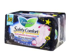 Laurier S/C Nightsafe 30CM 2X16S