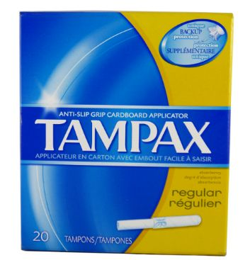 Tampax R/Regulier 20 Tampons