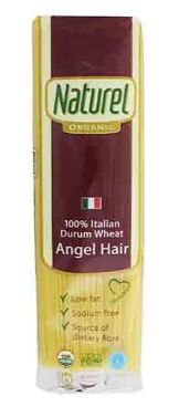 Naturel Organic Pasta Angel Hair 500G