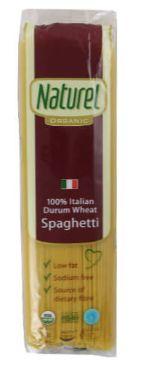 Naturel Organic Pasta Spaghetti 500G